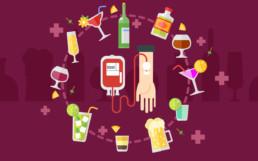 Si può bere alcolici prima di donare sangue