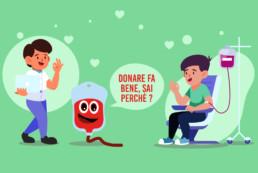 benefici donare sangue